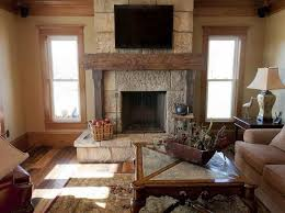 Fireplace Mantel Shelves Design Ideas by Swislocki