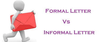 difference between formal and informal letter with comparison