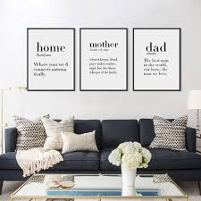 Black White Home Decor Compare Prices On Poster Frames Black Online Shopping Buy Low
