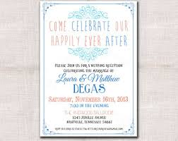 wedding reception invitation wording after ceremony wedding after party invitation yourweek 955a0feca25e