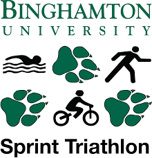 Binghamton University Map Binghamton University Sprint Triathlon