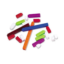 learning resources interlocking plastic cuisenaire rods