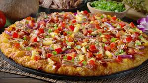 round table maui zaui special round table pizza create your own luau youtube