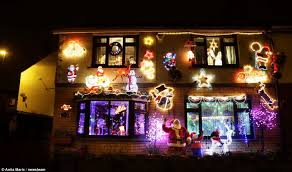 christmas mad pensioners spend 10 000 transforming their home