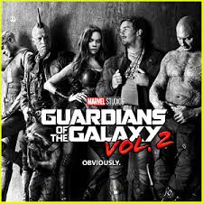 guardians of the galaxy 2 u2032 first poster revealed chris pratt
