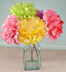 bouquet en papier paper flowers