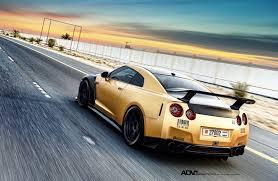 Nissan Gtr Matte Black - gold carbon ams nissan gt r with adv 1 wheels nissan nissan gt