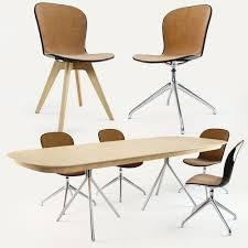 Boconcept Armchair Boconcept Adelaide Chair Ottawa Table 3d Model Boconcept