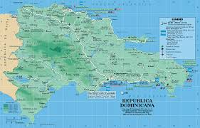 Map Caribbean by Caribbean On Line Dominican Republic Maps Republica Dominicana
