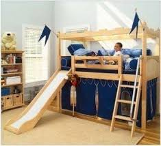 Diy Toddler Bunk Beds Bunk Bed With Stairs And Slide Foter