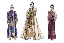 silk onesies and grand gowns crafting the costumes for the king