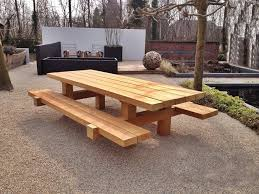 Rustic Dining Tables With Benches Bench Solid Wood Garden Bench Rustic Dining Tables Benches And