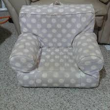 Anywhere Chair Find More Pottery Barn Kids My First Anywhere Chair Purple Polka