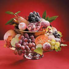fruit centerpieces sugared fruit centerpiece recipe taste of home