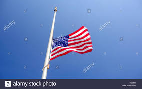 Flag Flown At Half Mast American Flag Half Staff Stock Photos U0026 American Flag Half Staff