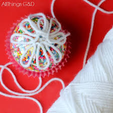 cupcake sprinkles ornament all things g d