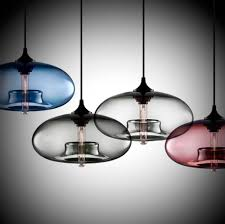 lighting for kitchen ideas intriguing stained blown glass modern pendant lighting with