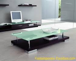 frosted glass coffee table this rectangular wenge coffee table features chromium plated