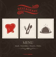 restaurant menu design free vector download eps cdr ai file