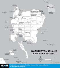 Wisconsin State Map by Printable Travel Maps Of Wisconsin Moon Travel Guides