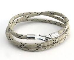 bracelet clasp images 3 wrap tan camo paracord bracelet with amigaz s hook clasp jpg