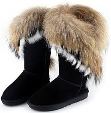 buy boots uae aphnus womens boots winter boots fur boots cow leather