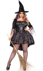 plus size black witch costume women u0027s witch halloween costume