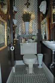 Vintage Powder Room Small Spaces Jewel Box Powder Room U2014 Brooklyn Boheme