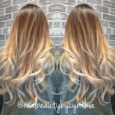 Light Brown Balayage High Contrast Balayage Sombre Light Golden Brown To Ash Blonde
