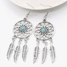 new fashion jewelry necklace images Mysterious dream catcher earrings unique fashion accessories jpg