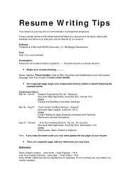 Resume Writing Templates Free Resume Writing Template Resume Template For Ms Word