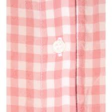 Pink Gingham Shower Curtain Altuzarra Gingham Shirt In Pink Lyst