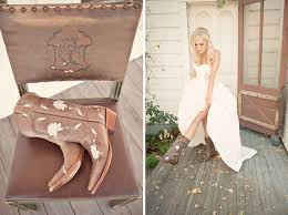 country western wedding jamie scott green wedding shoes