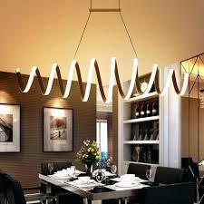 Led Dining Room Lights Led Dining Room Chandeliers Modern Led Office Pendant L Simple