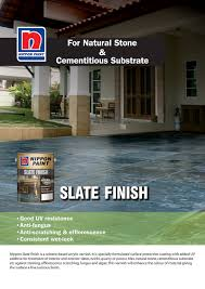 slate finish gloss nippon paint