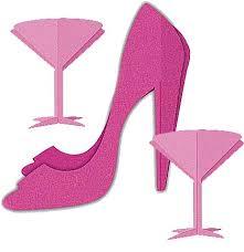 bachelorette party centerpiece martini centerpieces