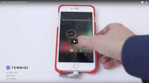 finally android on the iphone u2013 tendigi