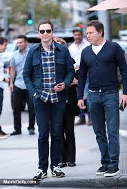 big bang theory star jim parsons is spotted out and about in