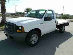 used ford work trucks for sale purchase used ford f250 reg cab work truck aluminum flat bed