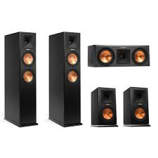 klipsch reference home theater system klipsch rp 260f rp 250c rp 160m home theater speaker set 5 0