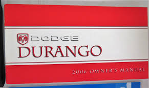 2006 dodge durango owners manual guide book bashful yak