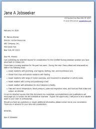 nursing assistant cover letter samples general cover letter for