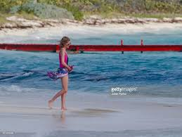Necker Island by Diana Princess Of Wales With Prince Harry And William And Her