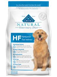 blue natural veterinary diet hf hydrolyzed for food intolerance