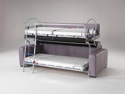 canape lit superpose canapés convertible système de lits superposés