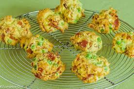 cuisiner les petits pois cookies au jambon et petits pois kilometre 0 fr