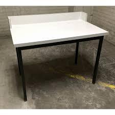 Metal Desk Vintage Heavy Duty Vintage Laminated Wood U0026 Metal Desk Work Table