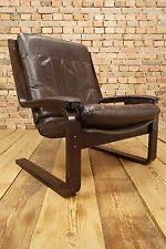Danish Leather Armchair Westnofa Antiques Ebay