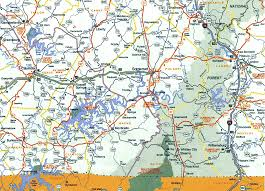 map of ky and surrounding areas on line advertising state map somerset ky