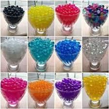 Vase Fillers Balls 1kg Bag Pearl Dark Pink Vase Filler Shaped Crystal Soil Water